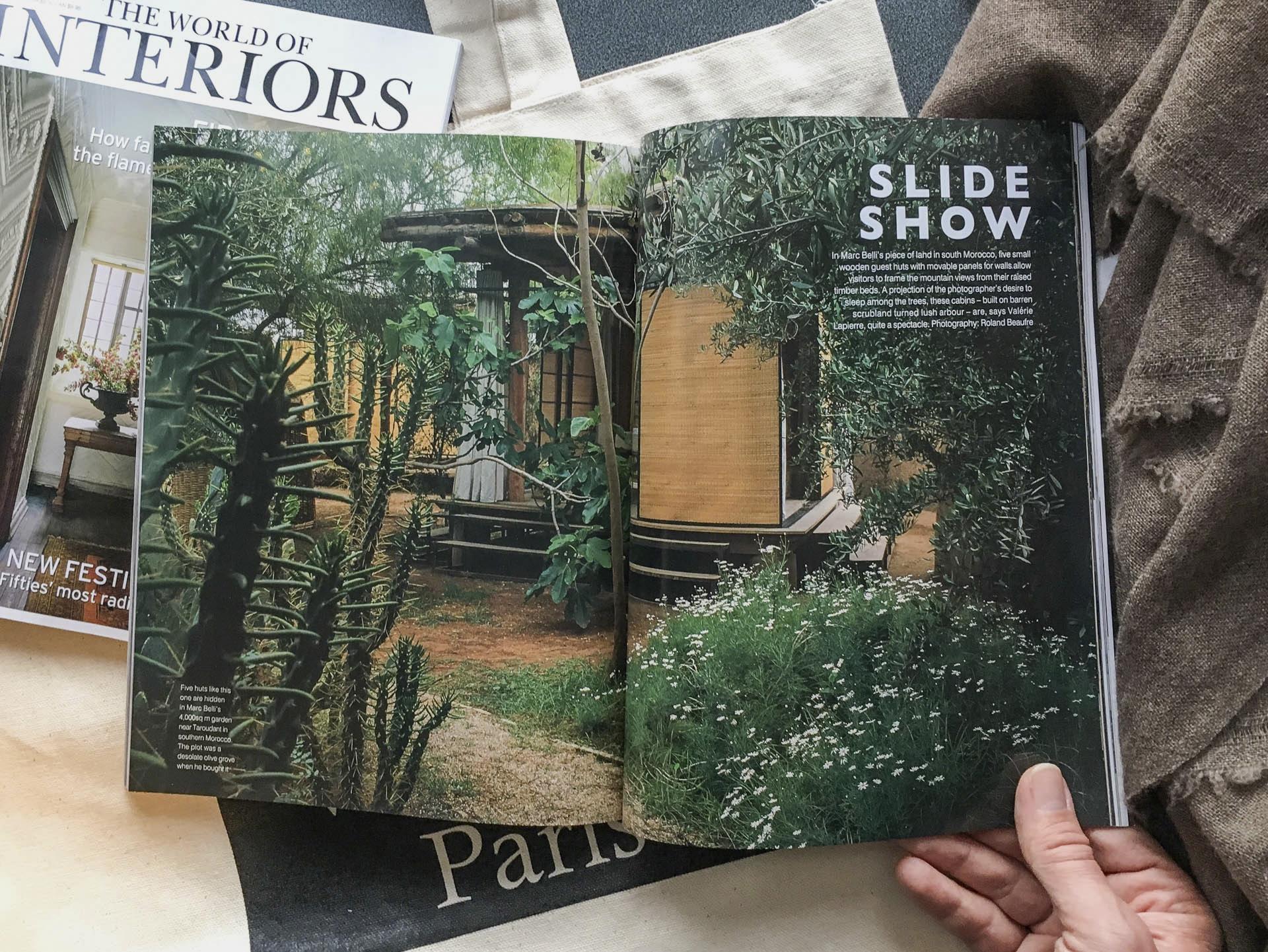 "darzahia garden pavilions in ""the world of interiors"" - darzahia"